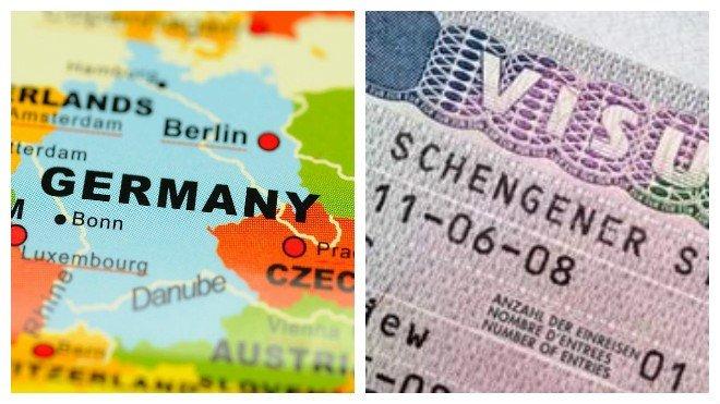 документы для визы в Германию