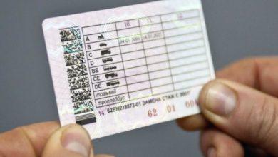 документы для получения водительских прав