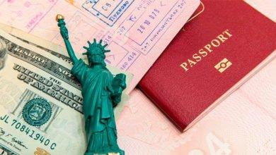 документы для получения визы в США